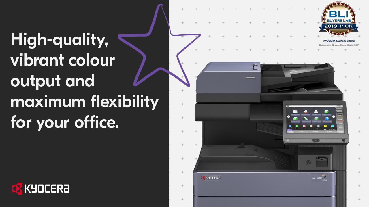 Kyocera - TASKalfa 3253ci High quality output for your office_