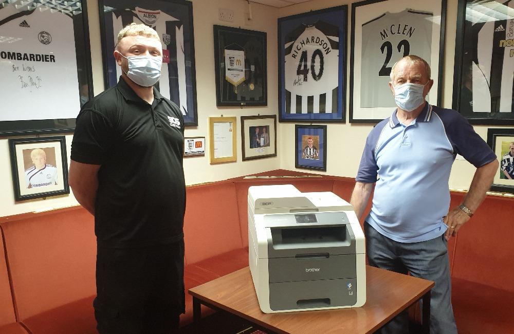 SOS Group Donate to Cramlington Juniors FC
